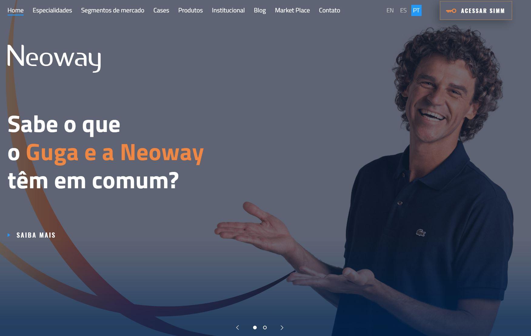 screenshot Neoway - Análise da concorrência