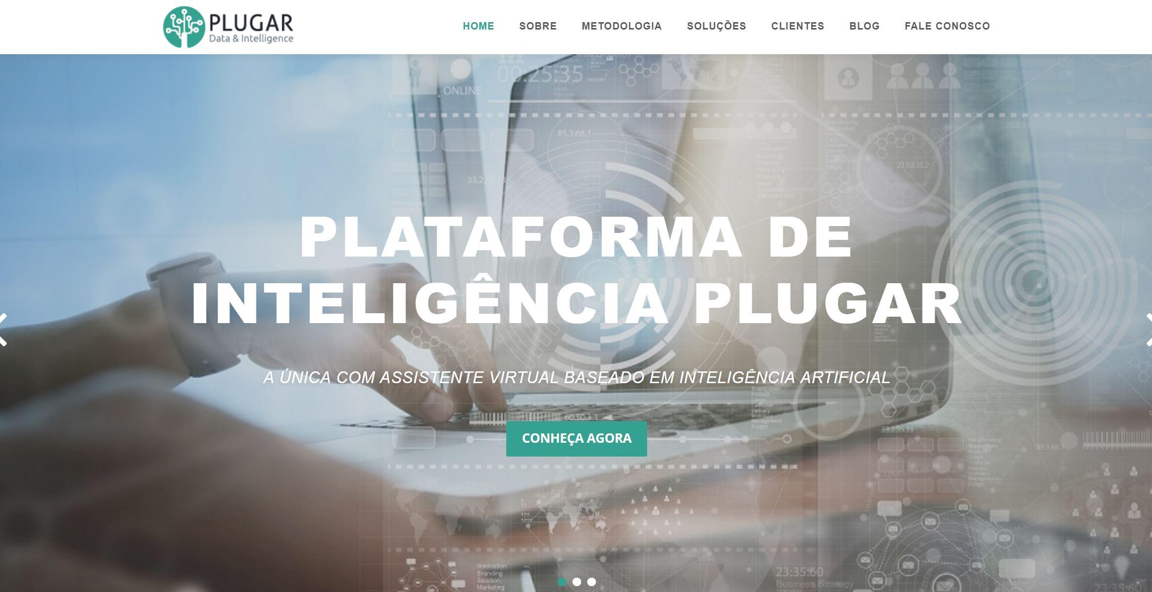 screenshot Plugar - Análise da concorrência
